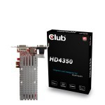 Club3D Radeon HD4350 PCI-E 1X Edition 512Mb HDMI 1X PCI-E