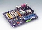 ECS PF1 Intel 865PE Socket 478 ATX  ---Demo---